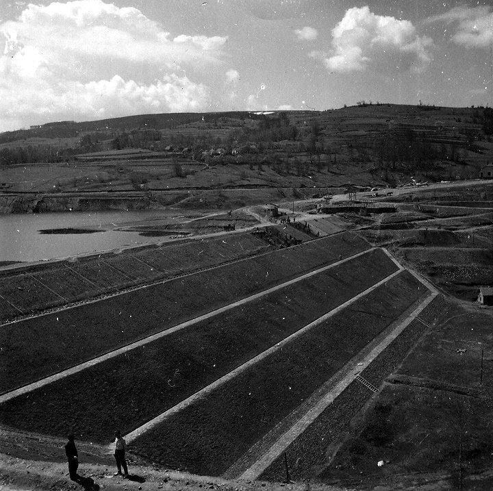 Како је грађена власинска брана – прва и једина земљана брана код нас